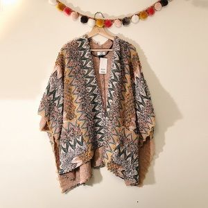 Tops - NWT David & Young Kimono sz OS